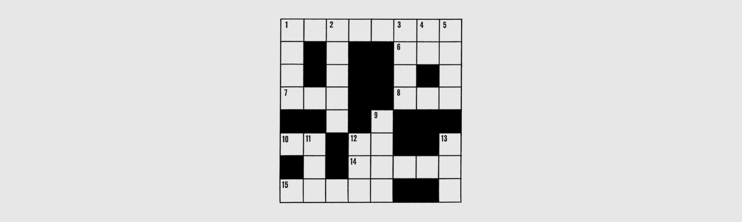 Crossword gifts