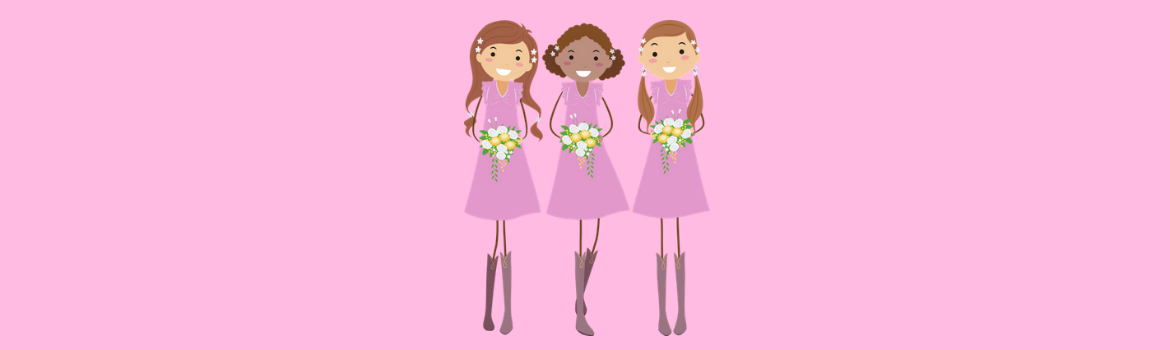 Gifts for junior bridesmaids