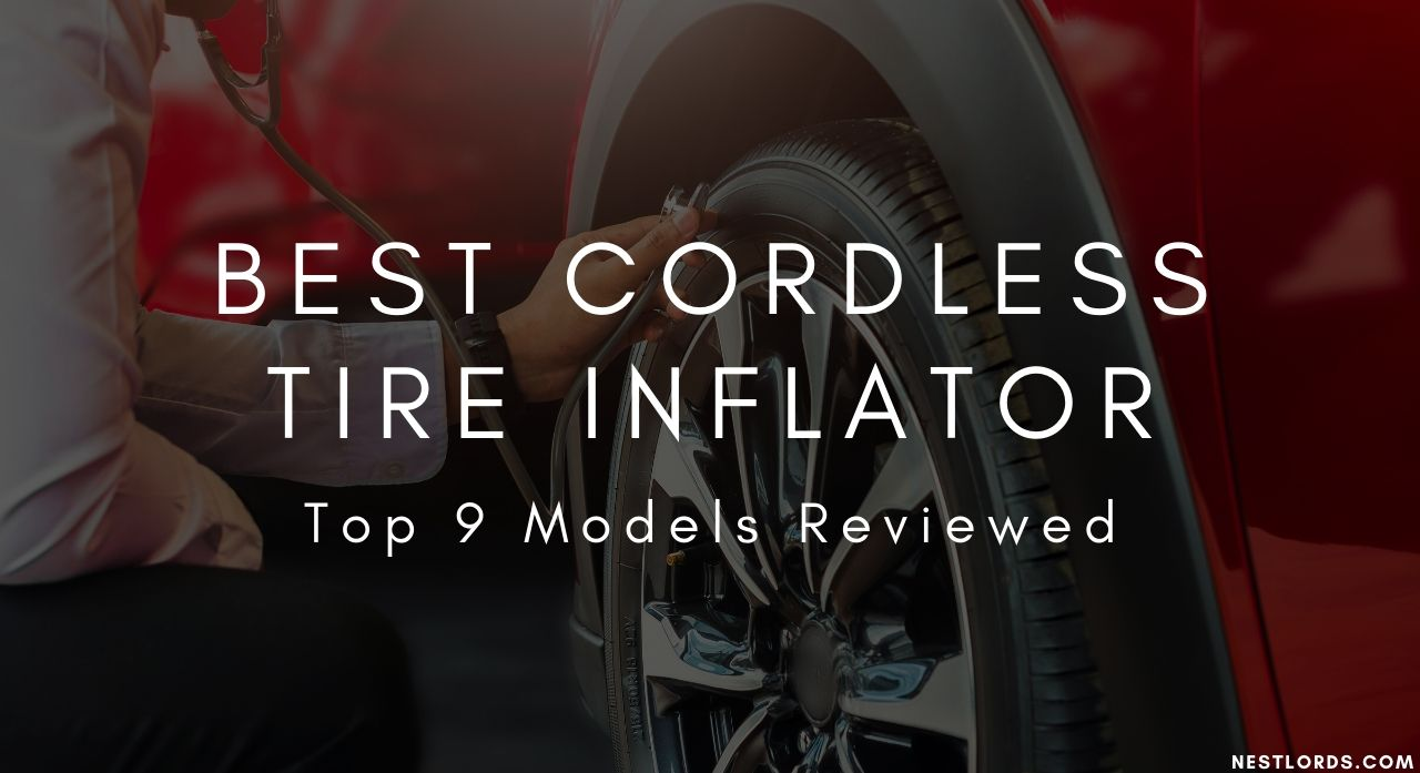 Best Cordless Tire Inflator- 2020 Top 9 Models Reviewed 1