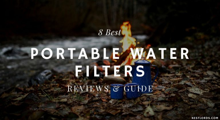8 Best Portable Water Filters – Reviews & Guide 2020