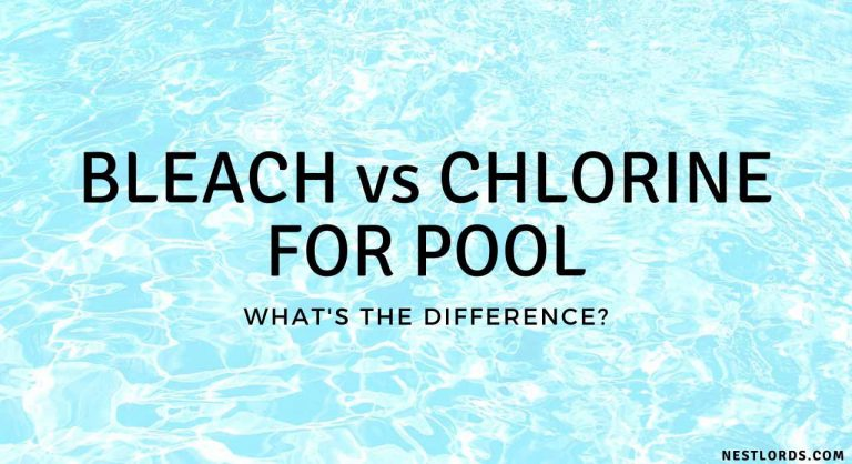 Bleach VS Chlorine For Pool: What's the Difference?