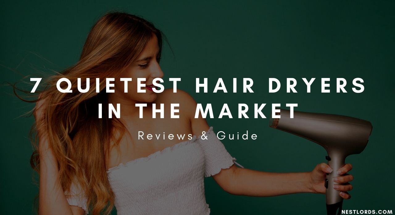 7 Quietest Hair Dryers In The Market 2020 - Reviews & Guide 1