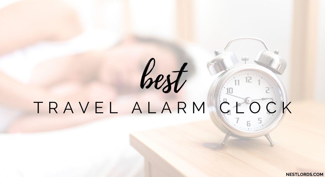 Top 8 Travel Alarm Clocks 2020 Reviews 1