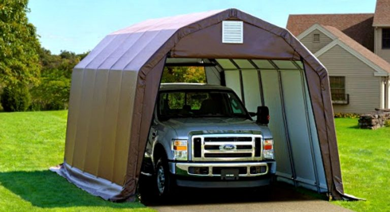 The Best Portable Garages in 2020 Reviews
