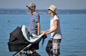 traveling with a stroller