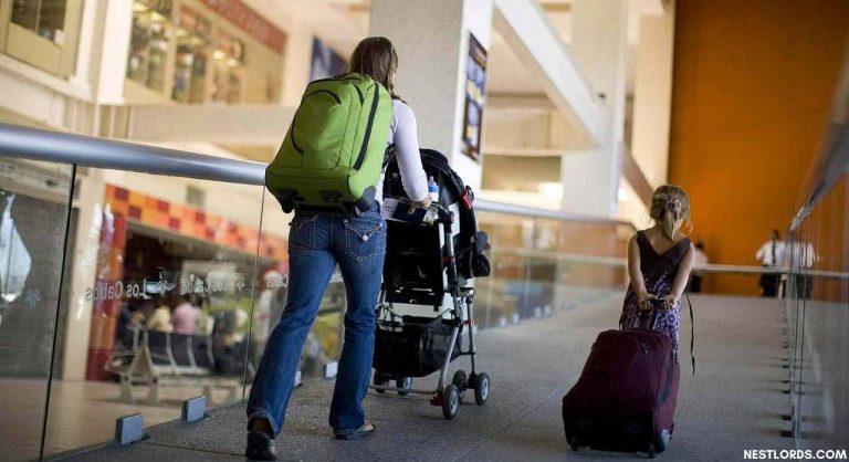 Is Stroller Allowed in International Flight?