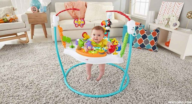 When can Baby go in Exersaucer? Age/Weight limits